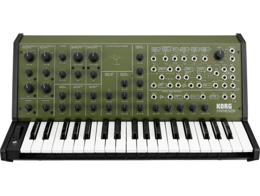 Korg MS20FS Analogue Synthesizer Green