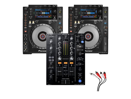 Pioneer CDJ900 Nexus & Pioneer DJM-450 Package