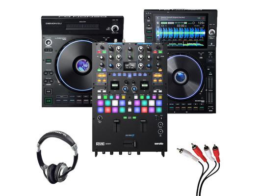 Denon LC6000 + SC6000 + Rane Seventy with Headphones + Cable
