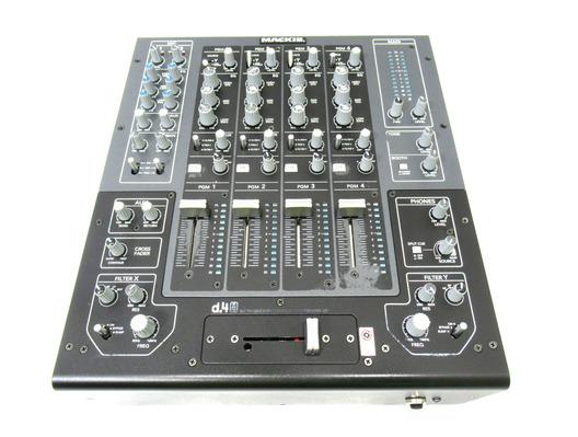 Mackie D.4 Pro 4 Channel Mixer