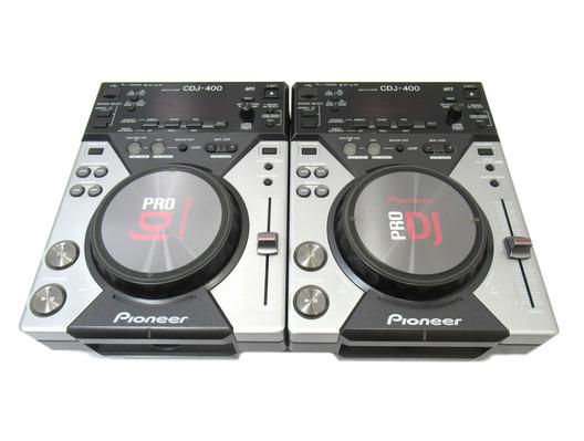 Pioneer CDJ-400 CD/MP3/USB Media Players (Pair)