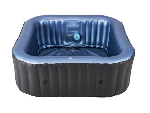 2021 MSpa Tekapo 6 Person Square Spa Hot Tub C-TE061