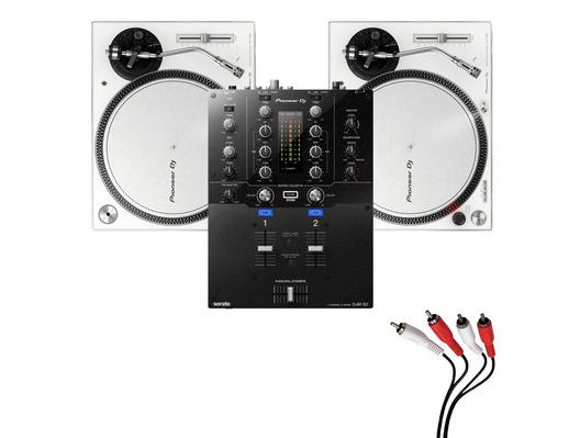 Pioneer PLX-500 White & DJM-S3 Package