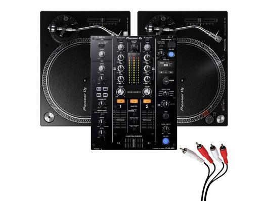 Pioneer PLX-500 & Pioneer DJM-450 Package
