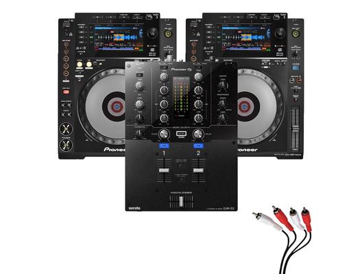 Pioneer CDJ900 Nexus & DJM-S3 Package