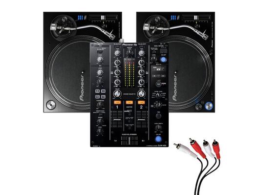Pioneer PLX-1000 & Pioneer DJM-450 Package