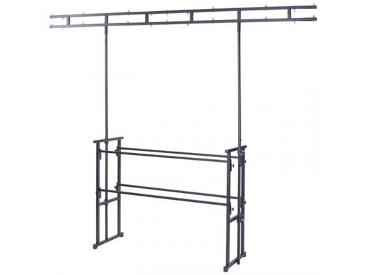 Rhino STAN12A Rhino 4ft Pro Disco Stand Twin Bar