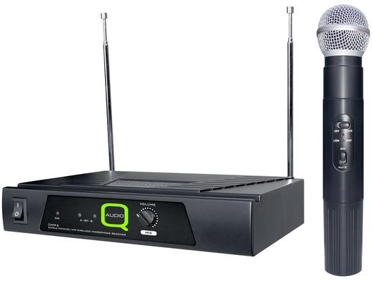 Q-Audio QWM 6 VHF Wireless Microphone System