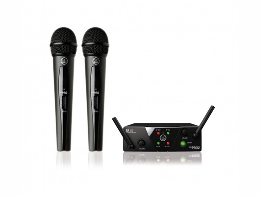 AKG WMS40 Mini Pro 2 Dual Vocal Microphone Set
