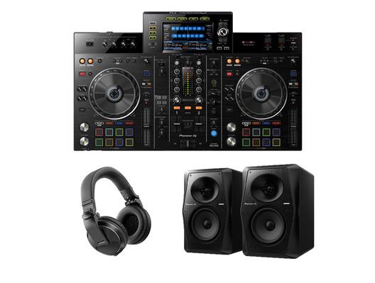 Pioneer XDJ-RX2 with VM-50 Monitors + Headphones